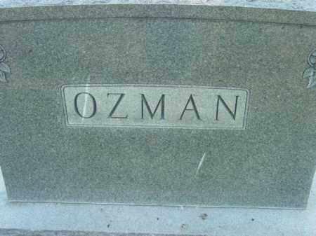 OZMAN, MOUNMENT - Talbot County, Maryland   MOUNMENT OZMAN - Maryland Gravestone Photos