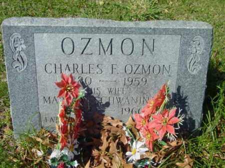 OZMON, MARY - Talbot County, Maryland | MARY OZMON - Maryland Gravestone Photos