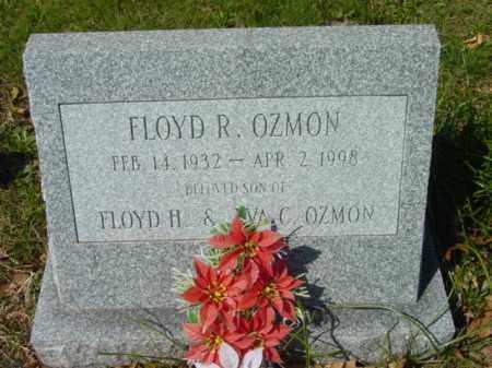 OZMON, FLOYD R. - Talbot County, Maryland   FLOYD R. OZMON - Maryland Gravestone Photos