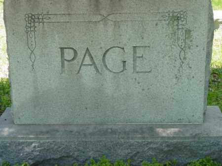 PAGE, MONUMENT - Talbot County, Maryland | MONUMENT PAGE - Maryland Gravestone Photos
