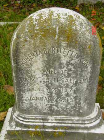 PALMER, ROBERTA BARTLETT - Talbot County, Maryland | ROBERTA BARTLETT PALMER - Maryland Gravestone Photos