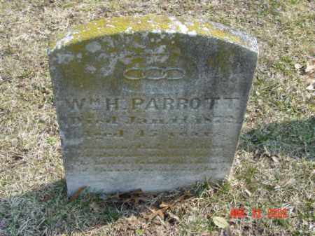 PARROTT, WILLIAM H. - Talbot County, Maryland | WILLIAM H. PARROTT - Maryland Gravestone Photos