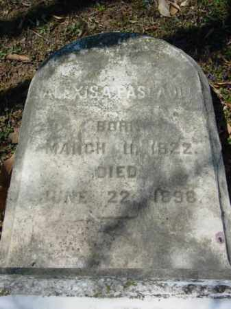 PASCAULT, ALEXIS A. - Talbot County, Maryland | ALEXIS A. PASCAULT - Maryland Gravestone Photos