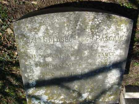 PASCAULT, ALEXIS GOLDSBOROUGH - Talbot County, Maryland | ALEXIS GOLDSBOROUGH PASCAULT - Maryland Gravestone Photos
