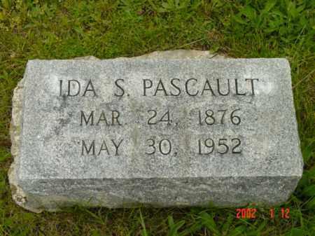 PASCAULT, IDA S. - Talbot County, Maryland | IDA S. PASCAULT - Maryland Gravestone Photos
