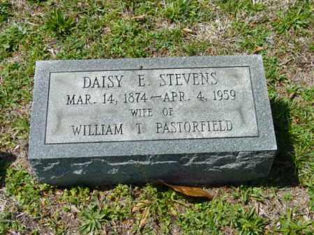 STEVENS PASTORFIELD, DAISY E. - Talbot County, Maryland | DAISY E. STEVENS PASTORFIELD - Maryland Gravestone Photos