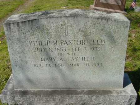 PASTORFIELD, PHILIP M. - Talbot County, Maryland | PHILIP M. PASTORFIELD - Maryland Gravestone Photos