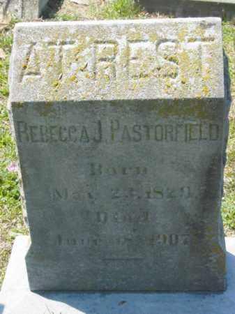 PASTORFIELD, REBECCA J. - Talbot County, Maryland | REBECCA J. PASTORFIELD - Maryland Gravestone Photos