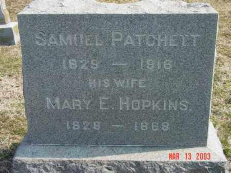 PATCHETT, SAMUEL - Talbot County, Maryland | SAMUEL PATCHETT - Maryland Gravestone Photos