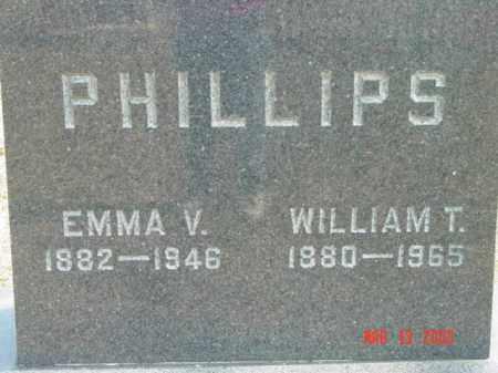 PHILLIPS, EMMA V. - Talbot County, Maryland | EMMA V. PHILLIPS - Maryland Gravestone Photos
