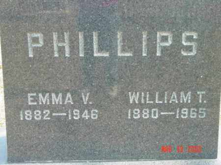 PHILLIPS, WILLIAM T. - Talbot County, Maryland | WILLIAM T. PHILLIPS - Maryland Gravestone Photos