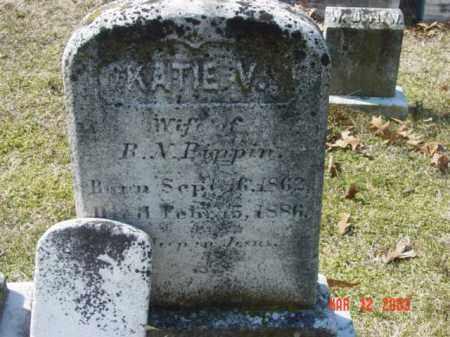 PIPPIN, KATTIE V. - Talbot County, Maryland | KATTIE V. PIPPIN - Maryland Gravestone Photos