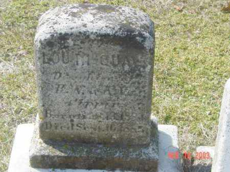 PIPPIN, LOU M. GUAY - Talbot County, Maryland | LOU M. GUAY PIPPIN - Maryland Gravestone Photos