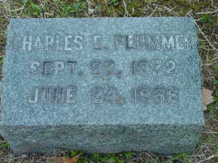 PLUMMER, CHARLES E. - Talbot County, Maryland | CHARLES E. PLUMMER - Maryland Gravestone Photos