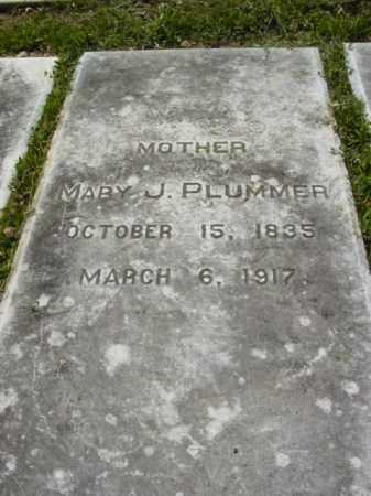 PLUMMER, MARY J. - Talbot County, Maryland | MARY J. PLUMMER - Maryland Gravestone Photos