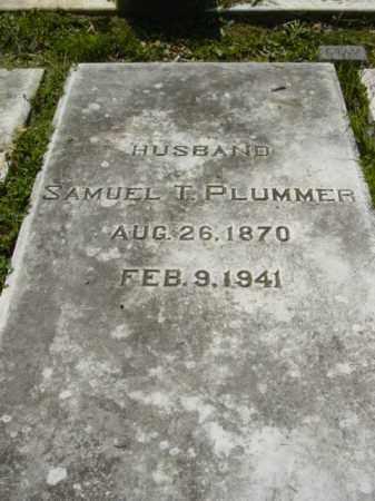 PLUMMER, SAMUEL T. - Talbot County, Maryland | SAMUEL T. PLUMMER - Maryland Gravestone Photos