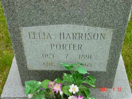 HARRISON PORTER, LELLA - Talbot County, Maryland   LELLA HARRISON PORTER - Maryland Gravestone Photos