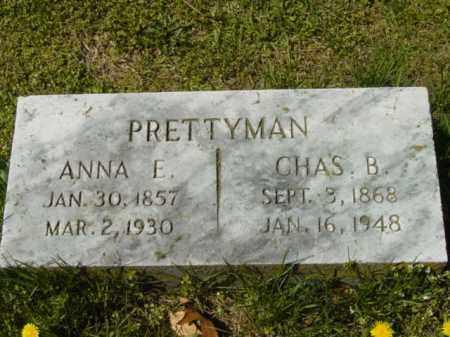 PRETTYMAN, ANNA E. - Talbot County, Maryland | ANNA E. PRETTYMAN - Maryland Gravestone Photos