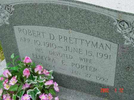 PRETTYMAN, ELMYRA E. - Talbot County, Maryland | ELMYRA E. PRETTYMAN - Maryland Gravestone Photos