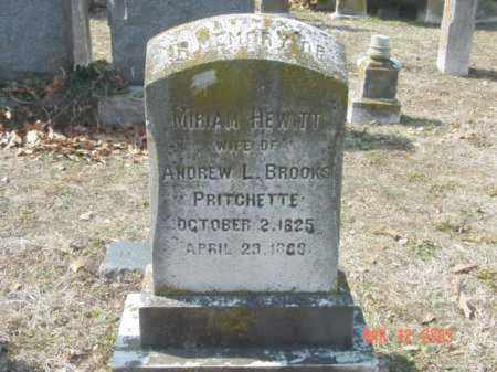 PRITCHETTE, MIRIAM - Talbot County, Maryland   MIRIAM PRITCHETTE - Maryland Gravestone Photos