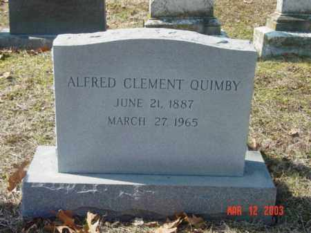 QUIMBY, ALFRED CLEMENT - Talbot County, Maryland | ALFRED CLEMENT QUIMBY - Maryland Gravestone Photos