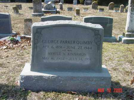 QUIMBY, MYRTLE V. - Talbot County, Maryland | MYRTLE V. QUIMBY - Maryland Gravestone Photos