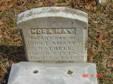RATHALL, NORA MAY - Talbot County, Maryland | NORA MAY RATHALL - Maryland Gravestone Photos