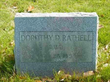 RATHELL, DOROTHY D. - Talbot County, Maryland   DOROTHY D. RATHELL - Maryland Gravestone Photos
