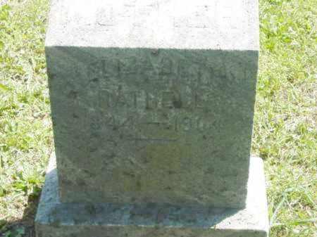 RATHELL, ELIZABETH - Talbot County, Maryland   ELIZABETH RATHELL - Maryland Gravestone Photos