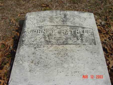RATHELL, JOHN T. - Talbot County, Maryland | JOHN T. RATHELL - Maryland Gravestone Photos