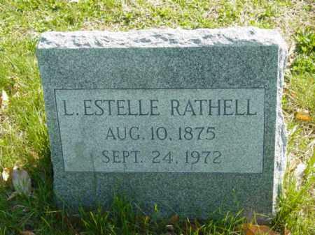 RATHELL, L. ESTELLE - Talbot County, Maryland | L. ESTELLE RATHELL - Maryland Gravestone Photos