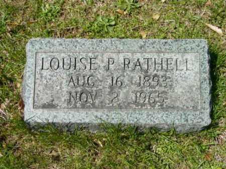RATHELL, LOUISE P. - Talbot County, Maryland | LOUISE P. RATHELL - Maryland Gravestone Photos