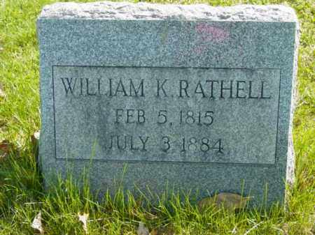 RATHELL, WILLIAM K. - Talbot County, Maryland | WILLIAM K. RATHELL - Maryland Gravestone Photos