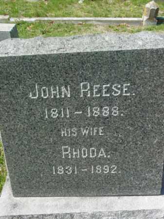 REESE, JOHN - Talbot County, Maryland   JOHN REESE - Maryland Gravestone Photos