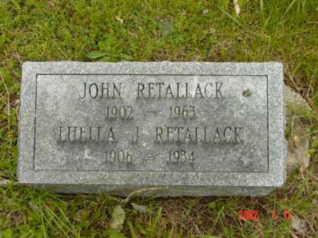 RETALLACK, JOHN - Talbot County, Maryland | JOHN RETALLACK - Maryland Gravestone Photos