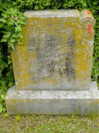 RETALLACK, MARY - Talbot County, Maryland | MARY RETALLACK - Maryland Gravestone Photos