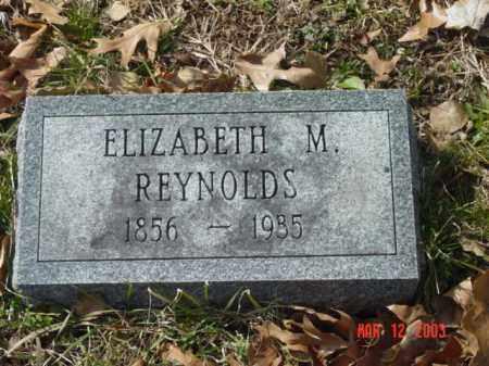 REYNOLDS, ELIZABETH M. - Talbot County, Maryland | ELIZABETH M. REYNOLDS - Maryland Gravestone Photos