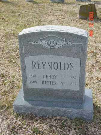 REYNOLDS, HESTER Y. - Talbot County, Maryland | HESTER Y. REYNOLDS - Maryland Gravestone Photos