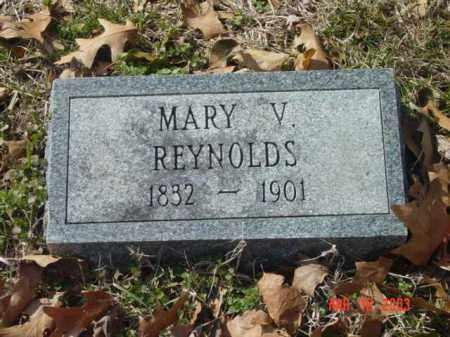 REYNOLDS, MARY V. - Talbot County, Maryland | MARY V. REYNOLDS - Maryland Gravestone Photos