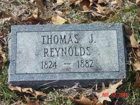 REYNOLDS, THOMAS J. - Talbot County, Maryland | THOMAS J. REYNOLDS - Maryland Gravestone Photos
