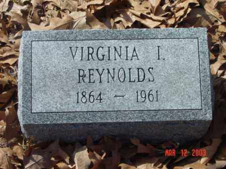 REYNOLDS, VIRGINIA I. - Talbot County, Maryland   VIRGINIA I. REYNOLDS - Maryland Gravestone Photos