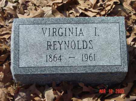 REYNOLDS, VIRGINIA I. - Talbot County, Maryland | VIRGINIA I. REYNOLDS - Maryland Gravestone Photos