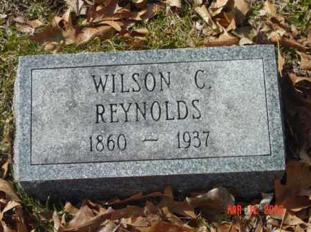 REYNOLDS, WILSON C. - Talbot County, Maryland | WILSON C. REYNOLDS - Maryland Gravestone Photos