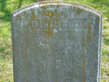 RIDGAWAY, THOMAS - Talbot County, Maryland | THOMAS RIDGAWAY - Maryland Gravestone Photos