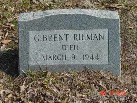 RIEMAN, G. BRENT - Talbot County, Maryland | G. BRENT RIEMAN - Maryland Gravestone Photos