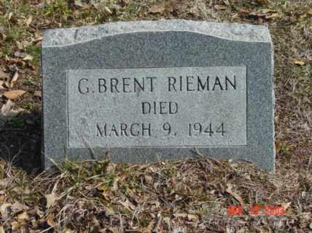 RIEMAN, G. BRENT - Talbot County, Maryland | G. BRENT RIEMAN - Maryland Gravestone Photos
