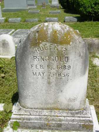 RINGGOLD, ROGER R. - Talbot County, Maryland | ROGER R. RINGGOLD - Maryland Gravestone Photos