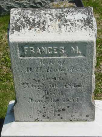 ROBERTS, FRANCES M. - Talbot County, Maryland | FRANCES M. ROBERTS - Maryland Gravestone Photos