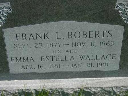 ROBERTS, EMMA ESTELLA - Talbot County, Maryland   EMMA ESTELLA ROBERTS - Maryland Gravestone Photos