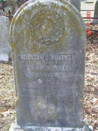 ROBERTS, WILLIAM D. - Talbot County, Maryland | WILLIAM D. ROBERTS - Maryland Gravestone Photos